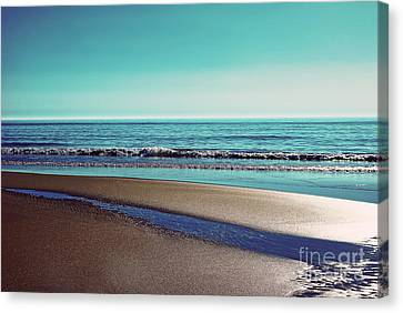 Silent Sylt - Vintage Canvas Print by Hannes Cmarits