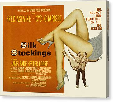Cyd Canvas Print - Silk Stockings, Fred Astaire, Cyd by Everett