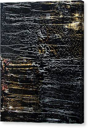 Silver And Gold Canvas Print by Terrance Prysiazniuk