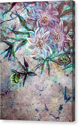 Silver Passions Canvas Print by Ashley Kujan
