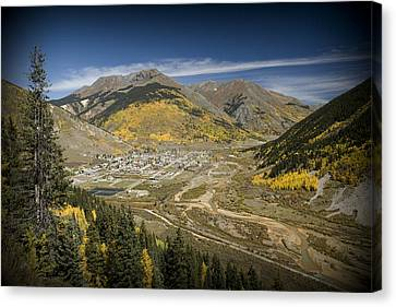 Silverton And Baker's Park Canvas Print by Tim Mulina