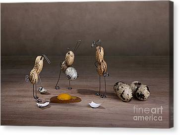 Odd Canvas Print - Simple Things Easter 10 by Nailia Schwarz