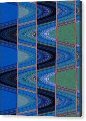 Sine Wave Canvas Print