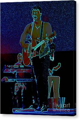 Singing From The Soul Canvas Print by Renee Trenholm