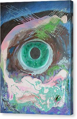 Singularity Canvas Print by Neda Laketic