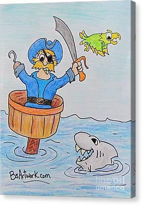 Sinking Ship Canvas Print