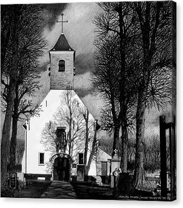 Sint Jin Chapel Canvas Print
