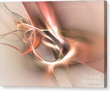 Sinuhe Canvas Print by Abstract fine art by Sipo