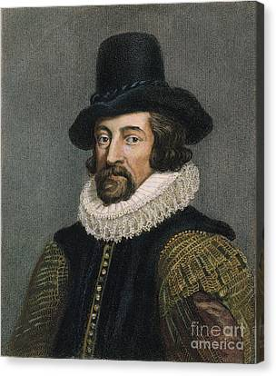 Sir Francis Bacon (1561-1626) Canvas Print by Granger