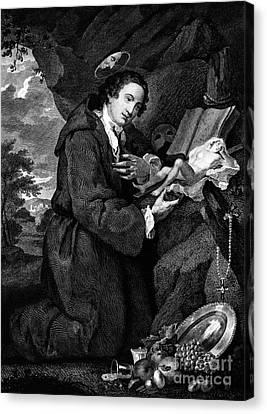 Sir Francis Dashwood Canvas Print by Granger