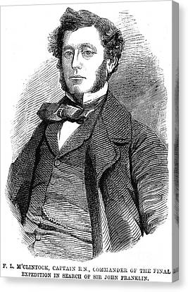 Sir Francis L. Mcclintock Canvas Print by Granger