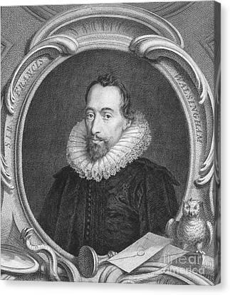 Sir Francis Walsingham Canvas Print by Granger