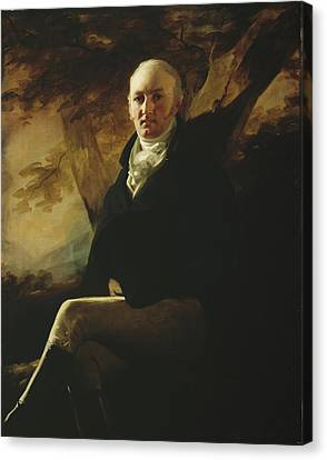 Sir James Montgomery Canvas Print by Sir Henry Raeburn