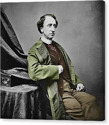 Sir John A. Macdonald Canvas Print by Andrew Fare