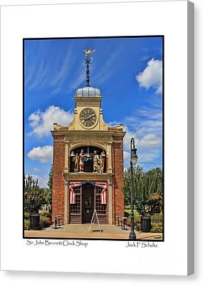 Sir John Bennett Clock Shop Canvas Print