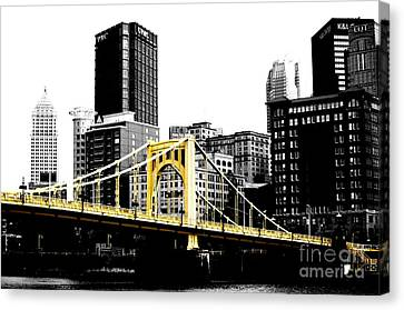 Sister #2 In Pittsburgh Canvas Print by Paul Henry