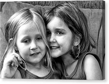 Sisters Canvas Print by Robert Toth