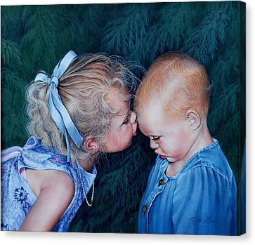 Canvas Print - Sisters by Ruth Gee