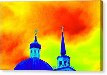 Sitka Russian Orthodox 8 Canvas Print by Randall Weidner