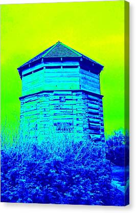 Sitka Russian Stockade Canvas Print by Randall Weidner