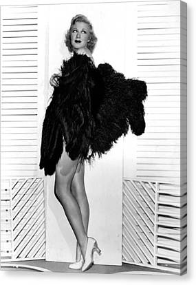 Sitting Pretty, Ginger Rogers, 1933 Canvas Print by Everett