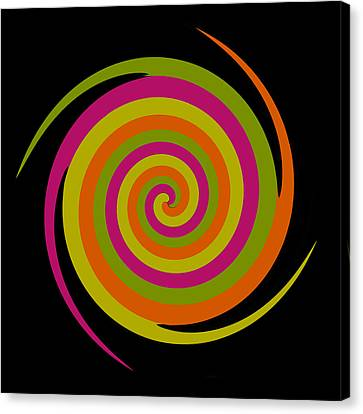 Canvas Print featuring the photograph Six Squared With A Twirl by Steve Purnell