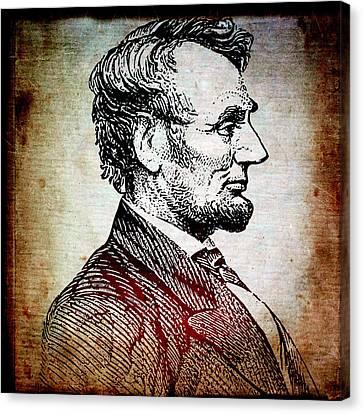 Sixteenth President Canvas Print