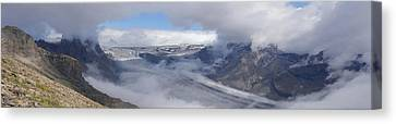 Canvas Print featuring the photograph Skaftafell Panorama by Rudi Prott