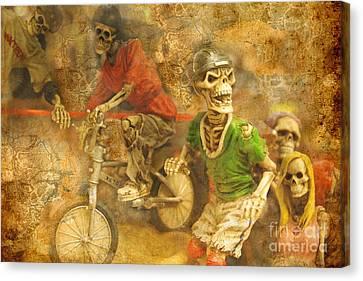 Skeleton Crew Canvas Print