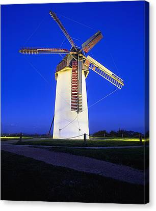 Dublin Building Colors Canvas Print - Skerries Mills Co Fingal, Ireland by The Irish Image Collection