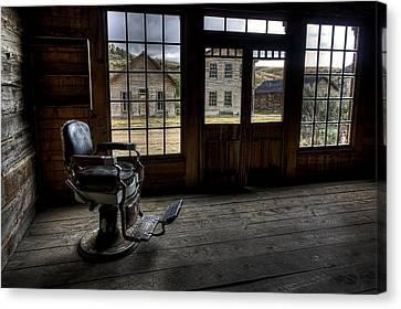 Skinner's Saloon - Bannack Ghost Town Canvas Print by Daniel Hagerman