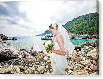 Skopelos Mamma Mia Wedding Canvas Print by Nick Karvounis
