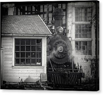 Skunk Trains Cabin Canvas Print