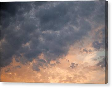 Canvas Print featuring the photograph Sky 1 by John Crothers