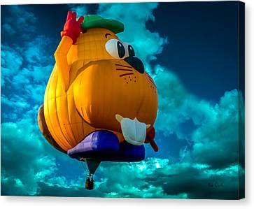 Sky Beaver Canvas Print by Bob Orsillo