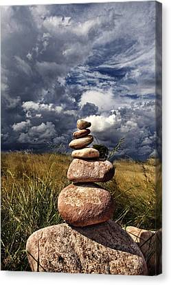 Sky Of Stone Canvas Print by Gabriel Calahorra