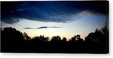 Sky Reflection Canvas Print