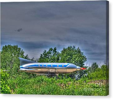 Jet-propelled Canvas Print - Sky Rocket I  by Jimmy Ostgard