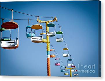 Sky Seats Canvas Print by David Taylor