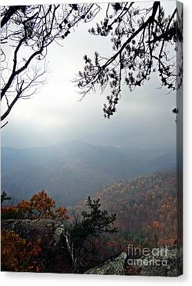 Skyline 3  Shenandoah National Park Canvas Print by Steven Lebron Langston