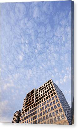 Skyscraper Canvas Print by Jeremy Woodhouse