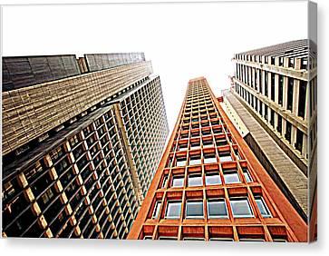 Skyscrapers Canvas Print by Luiz Felipe Castro