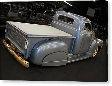 Slammed Pickup Canvas Print by Bill Dutting