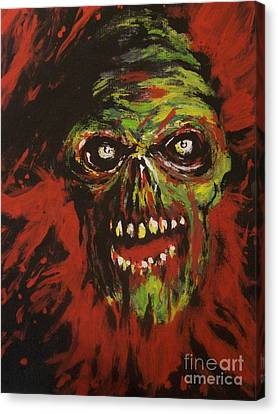 Slaughtered Canvas Print by Matt Detmer