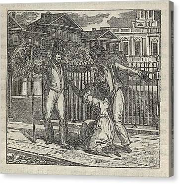 Abolitionist Canvas Print - Slave Henry Bibb Was Assigned Find by Everett
