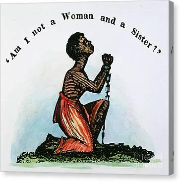 Slavery: Woman, 1832 Canvas Print by Granger