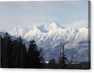 Sleeping Beauty Mountain Canvas Print