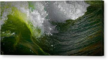 Sleeping Beauty Wave Canvas Print by Atom Crawford