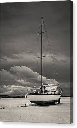 Sleeping Boats Canvas Print
