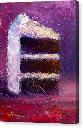 Slice Of Decadence Canvas Print